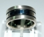Mobile Preview: Silberring mattiert-glänzend