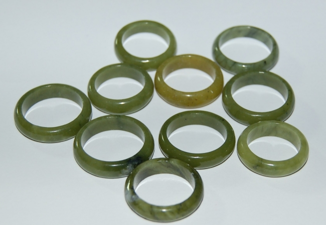 Nephrit Jade-Ring